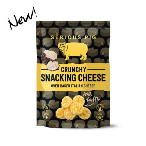 Serious Pig Crunchy Snacking Cheese withTruffle 24g